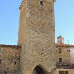 Portal San Roque en Mosqueruela (Teruel)