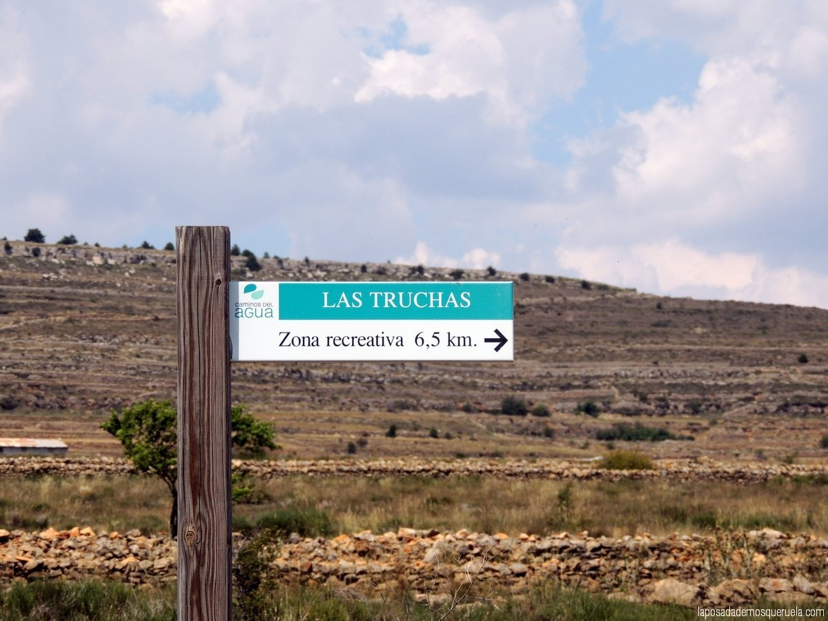 Ruta al Merendero de Las Truchas en Mosqueruela, Teruel