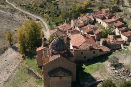 Barrio de La Virgen de La Estrella en Mosqueruela