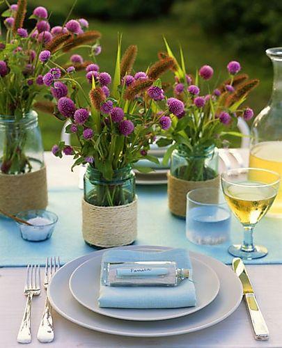 Como prepara una mesa para invitados