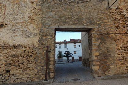 Portal de la Vistorre de Mosqueruela, Teruel