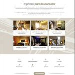 Página habitaciones de la web nueva