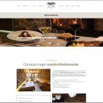 Página restaurante de la web nueva